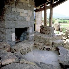 I love using the stone around it for a sitting area.