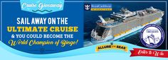 Enjoy the perfect holiday with an amazing 7 night, 8 day Bingo cruise to the Sunny Caribbean onboard the Allure of the Seas. Earn entries for the Cruise Giveaway Draw, every time you deposit on Bingo Fest!! #onlinebingo #giveaway #holidays