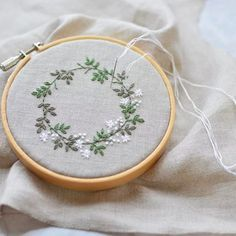 Silk Ribbon Embroidery Kit Handmade Oriental Wall Hanging Art Asian Decoration Big (No frame) - Embroidery Design Guide Hand Embroidery Stitches, Silk Ribbon Embroidery, Embroidery Hoop Art, Hand Embroidery Designs, Embroidery Techniques, Cross Stitch Embroidery, Simple Embroidery, Embroidery Tattoo, Floral Embroidery Patterns