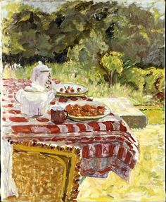 Strawberries 1910, Pierre Bonnard