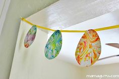 How to Make Marbled Paper with Shaving Cream