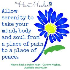 If you would like to move from #pain to #peace then this is the book for you! http://www.amazon.com/How-heal-broken-heart-Healing/dp/1507763085