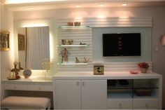 Untuk my room nampak luas Bedroom Furniture, Bedroom Decor, New Room, Girl Room, Bedroom Girls, Room Inspiration, Small Spaces, Interior Design, Home Decor