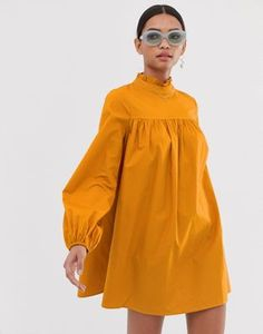 Find the best selection of Fashion Union high neck long sleeved shift dress. Shop today with free delivery and returns (Ts&Cs apply) with ASOS! Glamouröse Outfits, Casual Outfits, Fashion Outfits, Womens Fashion, Dress Fashion, Simple Dresses, Elegant Dresses, Casual Dresses, Iranian Women Fashion