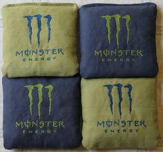 Monster Cornhole bags