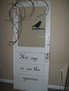 Such a wonderful idea for a treasured door.