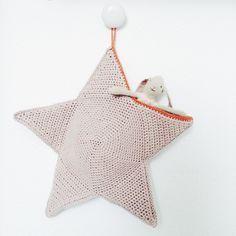 Christmas Stocking Star By Cecile - Free Crochet Pattern - (hvadbiertaenker)