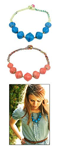 31 Bits Ollie Twist Necklace at The Animal Rescue Site