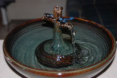 Pretty fountains by Thirsty Cat Fountains.