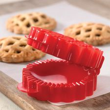 Mini Lattice Pie Mold! Norpro on amazon too but doesn't work well bc dough gets stuck on lattice areas of mold