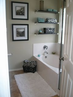 Hill Country Homebody: Going Backwards: Bedroom and Bath Before and After