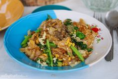 Authentic Thai Pad See Ew Recipe (ผัดซีอิ๊ว) – Street Food Style