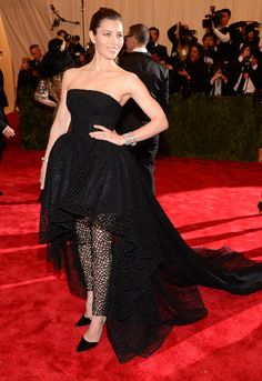 Jessica Biel Met Gala 2013: See All the Red Carpet Looks - The Cut