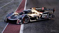 McLaren LMP1 Concept - G24 Studio