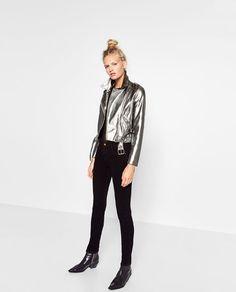 BLUSÃO MOTARD METALIZADO DETALHE. #dress #fashion #style #trend #onlineshop #shoptagr