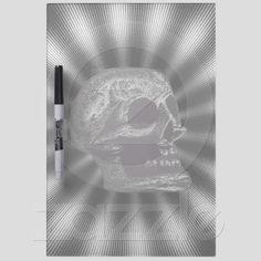 The Skull! Black & White Rays from Zazzle.com