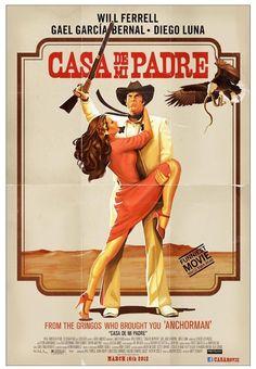 Casa de mi Padre. (2012) #movie #poster