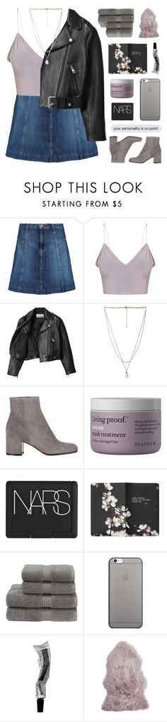"""""""MY YOUTH IS YOURS"""" by emmas-fashion-diary ❤ liked on Polyvore featuring Current/Elliott, Acne Studios, Forever 21, Gianvito Rossi, Living Proof, NARS Cosmetics, Moleskine, Christy, Native Union and Pier 1 Imports"""