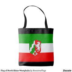 Flag of North Rhine-Westphalia Tote Bag