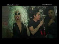 Andrea Fragasso con Marco Casale e Kriss Malacava, Spazio Roma, serata La Troya Assassina - VEDI IL VIDEO
