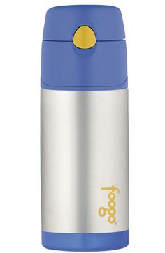 Foogo Sipper Bottle With Straw - Blue Lime Tree Kids