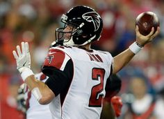 Thursday Night Football: Falcons vs. Buccaneers:  43-28, Falcons  -  November 3, 2016  -     Atlanta Falcons quarterback Matt Ryan (2) throw a pass against the Tampa Bay Buccaneers during the first quarter of an NFL football game Thursday, Nov. 3, 2016, in Tampa, Fla.