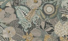Euphoria Wallpaper by Arte Vinyl Wallpaper, Wallpaper Samples, Wallpaper Online, Peacock Pattern, Flamingo Pattern, Arte Wallcovering, Japanese Countryside, Paradise Flowers, Exotic Beaches
