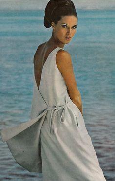 Brigitte Bauer by Norman Parkinson, Vogue 1965