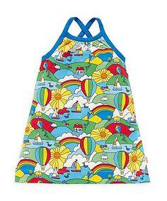 Little Bird by Jools Cross Back Sundress #Baby #girls #dresses