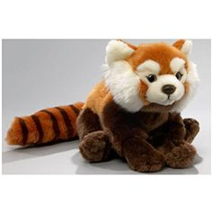 Stuffed Animal Red Panda,11.5 inches, 19 inches with tail, 30cm, Plush Toy, Soft Toy >>> More info could be found at the image url. (This is an affiliate link) #StuffedAnimalsPlushToys