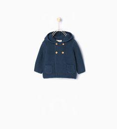 Image 2 of Knit cardigan from Zara