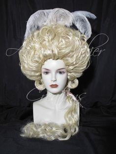 18 century WIG The Duchess style- Parrucca XVIII stile La Duchessa