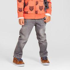 Toddler Boys' Skinny Jeans Cat & Jack - Gray Wash