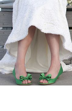 Green shoes!