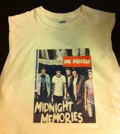 One Direction; Midnight Memories Crop Top