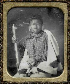 (1849) Na-che-ninga [No Heart of Fear], a Chief of the Iowas.