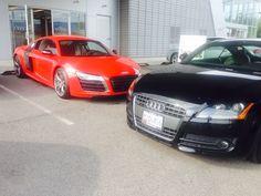 Audi R8 and TT