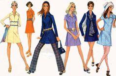 ヴィンテージ60年代の縫製パターンMcCalls 2087レディースMODミニAラインワンピースやチュニックとズボンサイズ14バスト36
