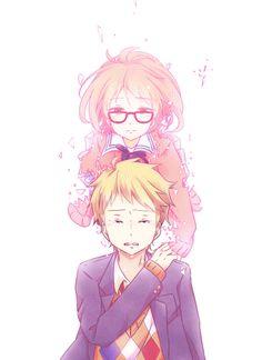 Akihito cry :'( #Anime #Kyoukai_no_kanata