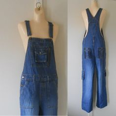 Women Overalls / Denim Overalls / Womens Bib by TheVilleVintage, $44.99
