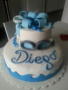 Piscina cake!