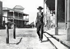 vintage black and white tv set western spaghetti - Google Search