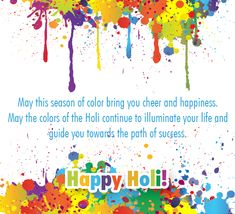 Send warm Holi wishes with this colorful ecard to your near and dear ones. Free online This Season Of Color ecards on Holi Holi Festival Of Colours, Thanking Someone, Holi Wishes, Holi Celebration, Beginning Of Spring, Happy Holi, Blog Sites, Color Of Life, Name Cards