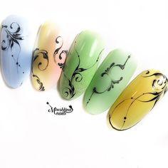 ⚜️⚜️⚜️ #miroshkina_nails #вензеля #росписьногтей #ногтимосква #venzelgram