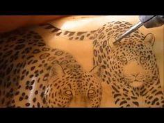 Scrimshaw Demonstration by Adams - Tiger - YouTube