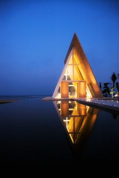 Lighting 8 by abdi ahsan, via Flickr - BALI Conrad, Infinity Chapel
