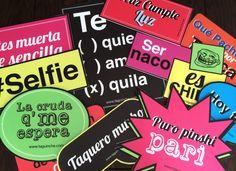 Letreros para fiesta www.taguinche.com