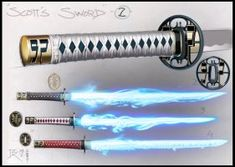 "Final whip sword concept -""Scott pilgrim vs the World"" pencil and photoshop… Anime Weapons, Sci Fi Weapons, Weapon Concept Art, Armor Concept, Weapons Guns, Fantasy Sword, Fantasy Armor, Fantasy Weapons, Whip Sword"