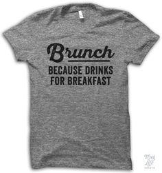 Brunch! because drinks for breakfast.
