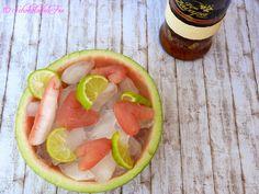 Wassermelonen-Limetten-Eisbonbons